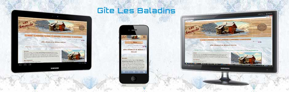 Sites Web Les Baladins