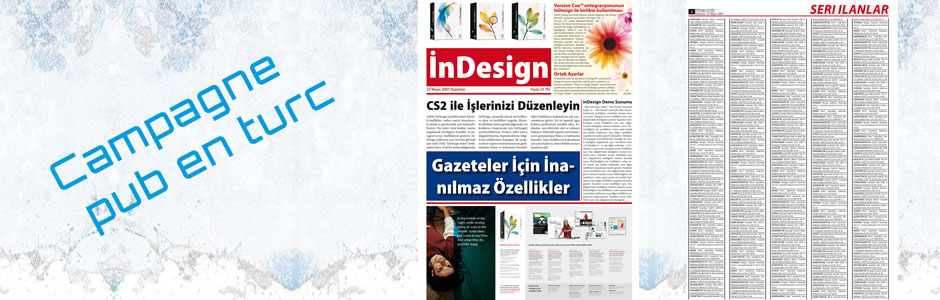 Version turque d'InDesign